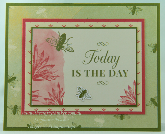 #thecraftythinker  #stampinup  #cardmaking  #cardmakingforbeginners  #easycard , Tea Room Memories & More, Easy Card, Stampin' Up Australia Demonstrator, Stephanie Fischer, Sydney NSW