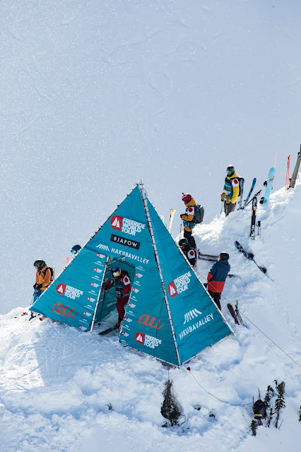 Freeride World Tour 2018 Hakuba Event Took Place in Kicking Horse Golden BC