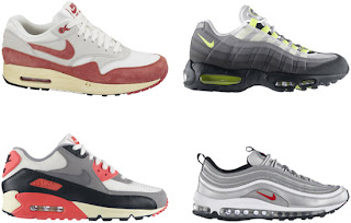 more photos a6ebf 12ba7 This collection features an original colorway of the Nike Air Max 1, Nike  Air Max  90, Nike Air Max  95 and Nike Air Max  97. All in a