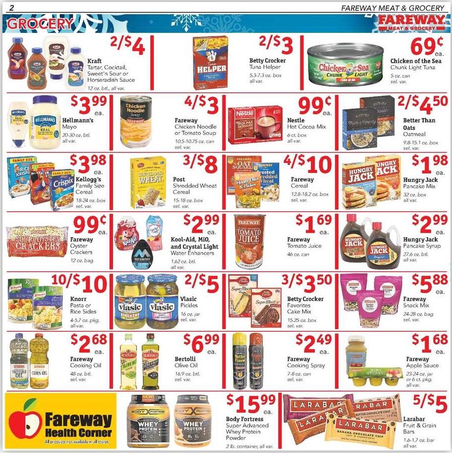 Fareway Ad And Deals February 25