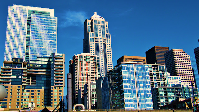 Seattle skyline...