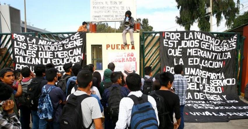 UNMSM: La toma de San Marcos es un capricho y tiene motivación política, asegura rector - www.unmsm.edu.pe
