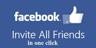 #HINDI How To Invite All Friends To Like Page On Facebook (Single Click) – 2017