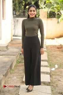 Tollywood Actress Punarnavi Bhupalam Latest Po Gallery in Black Trouser Pant at Pittagoda Movie Interview  0156.JPG