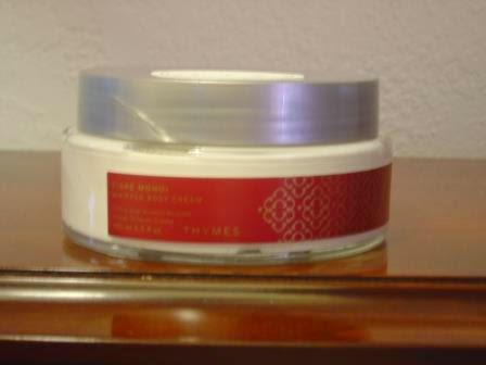 Tiare Moni Whipped Body Cream from Thymes