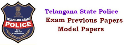 Telangana (TSLPRB) Police Constable Model Paper 2018