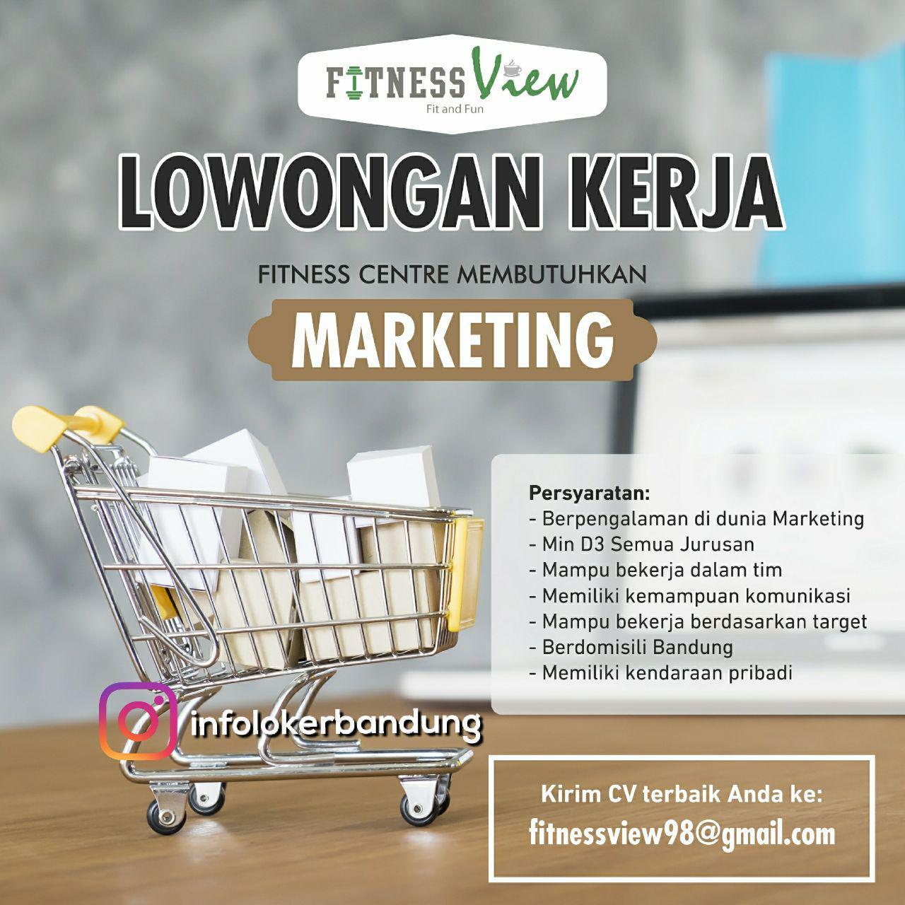 Lowongan Kerja Fitness View Bandung Agustus 2017