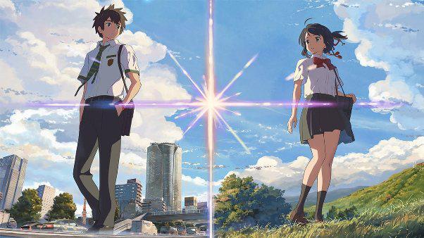Anime Drama Romance Terbaik - Kimi no Na wa.