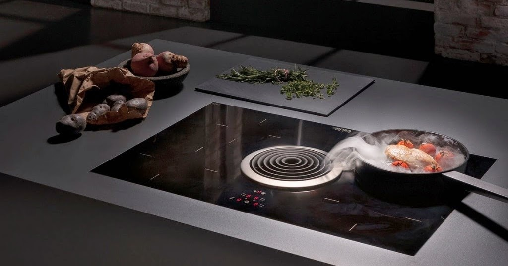 Extractor de superficie en la cocina una alternativa a la for Superficie cocina