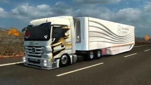Mercedes Actros by Canal YT INTRUSO