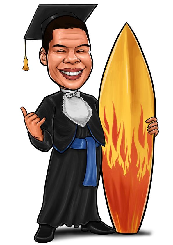 caricatura canoas rs