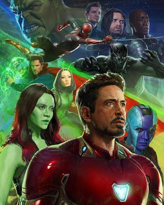 San Diego Comic-Con 2017 Exclusive Avengers Infinity War Concept Art Movie Poster #1 by Ryan Meinerding