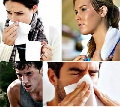 Personas con síntomas de la gripe aumentados por un mal cuidado