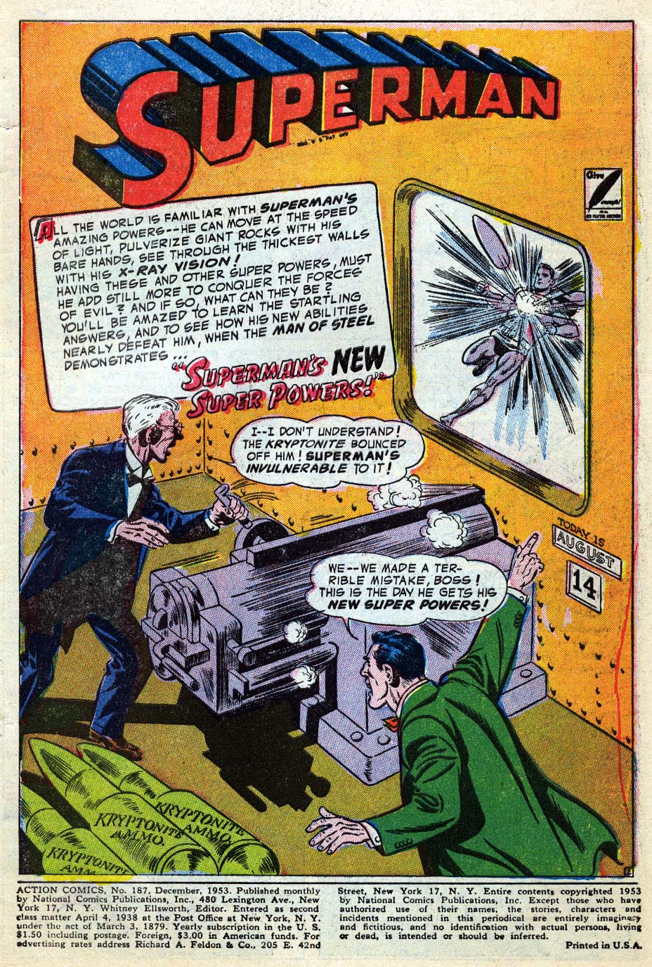 Action Comics (1938) 187 Page 2