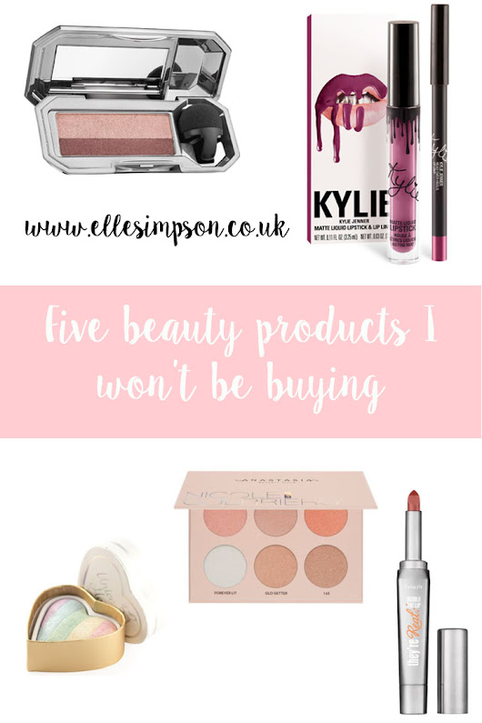 Five beauty items I won't be buying