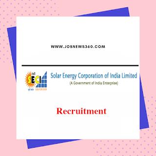 SECI Recruitment 2019 for Experienced Professionals (8 Vacancies)