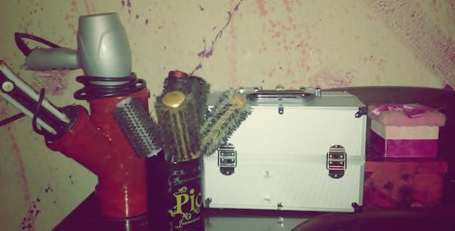 Diy suporte para secador e prancha