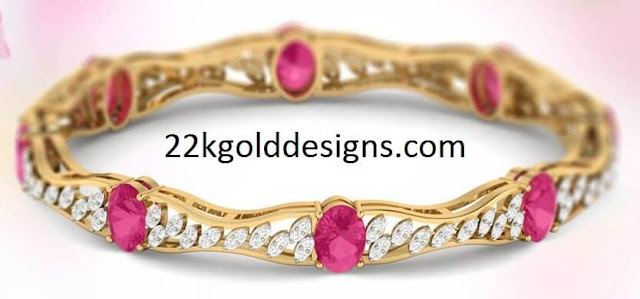 1 Lakh PCJ Diamond Bangle