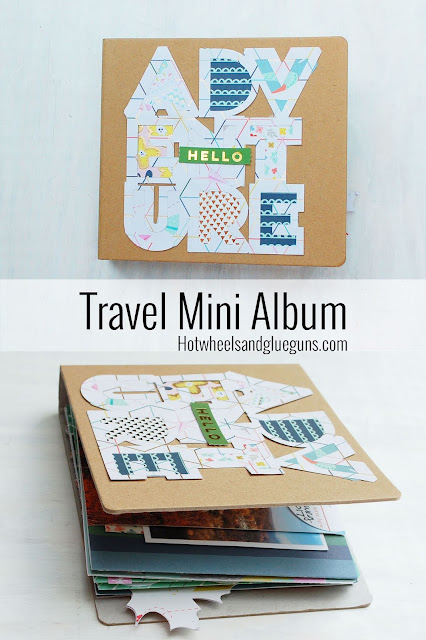 TravelMiniAlbumHotWHeelsandGlueGuns