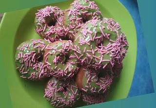 resep donat green tea