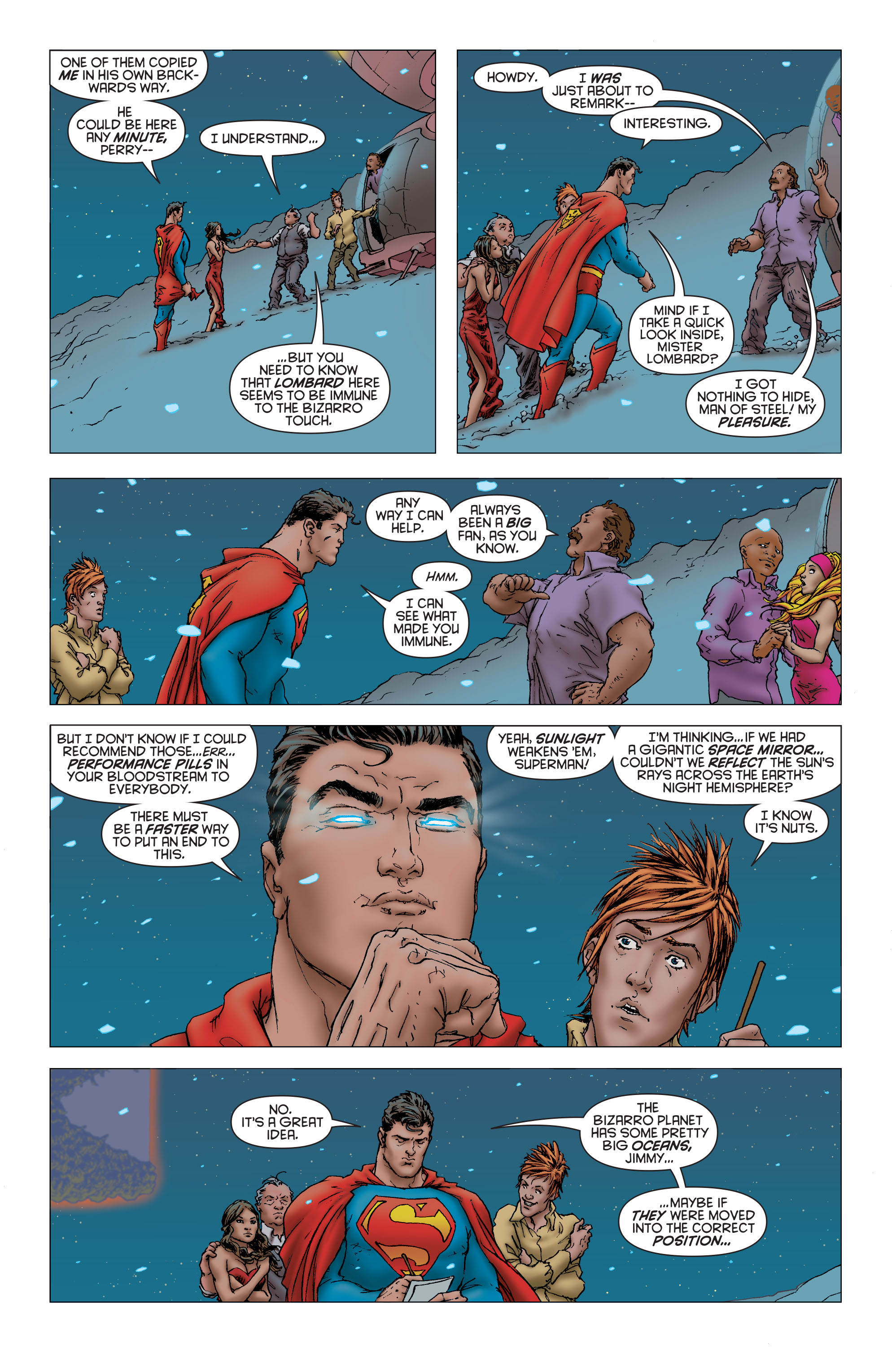Read online All Star Superman comic -  Issue #7 - 16