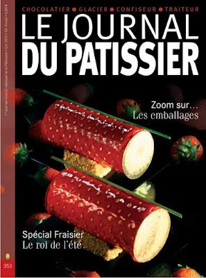 Télécharger Gratuitement Le journal du pâtissier Spécial fraisier pdf