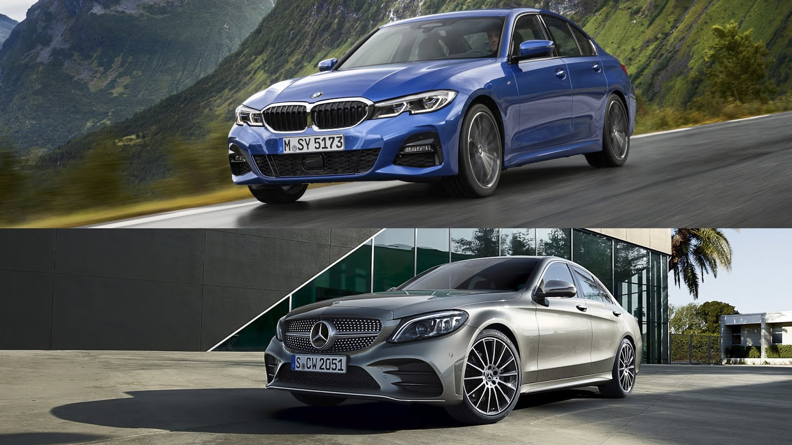 2019 bmw 3 series vs 2019 mercedes c class page of pro. Black Bedroom Furniture Sets. Home Design Ideas