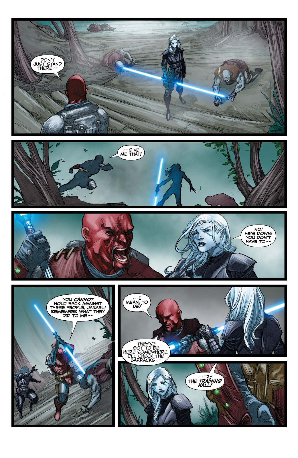Read online Star Wars Legends: The Old Republic - Epic Collection comic -  Issue # TPB 3 (Part 3) - 68