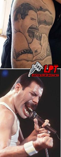 Fail de tatuaje de Freddie Mercury