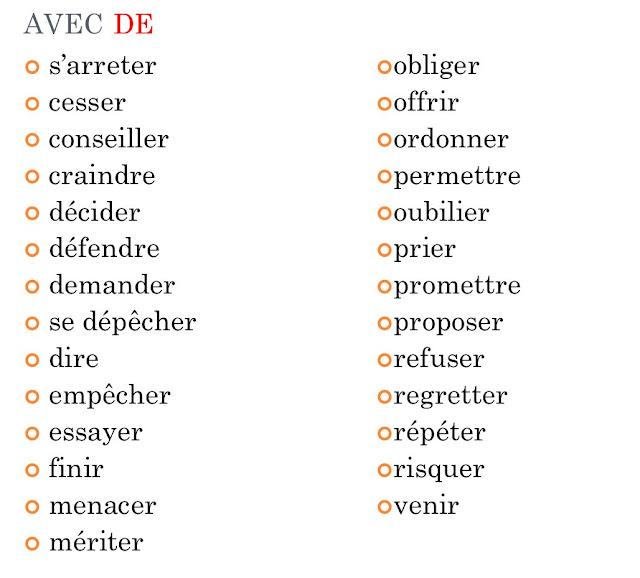 Czasowniki z przyimkami - czasowniki z przyimkiem de 2 - Francuski przy kawie