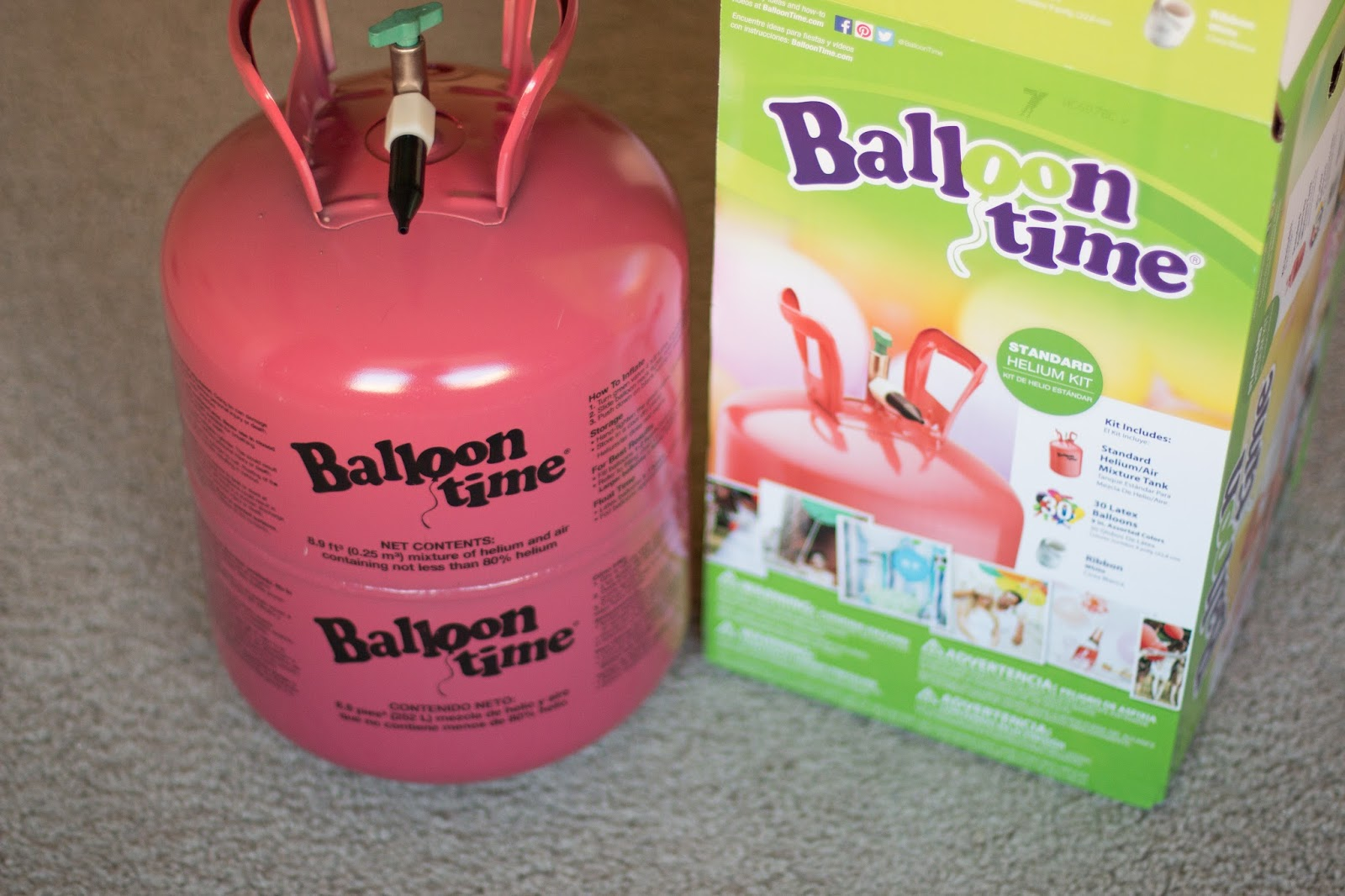 Keeping My Cents ¢¢¢: Balloon Time Helium Tank Review