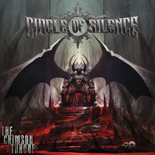 "Circle Of Silence - ""The Crimson Throne"" Official Cover Art"
