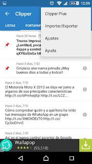 YoAndroideo.com: Clipper: Copiar, pegar, copiar, pegar, cop..