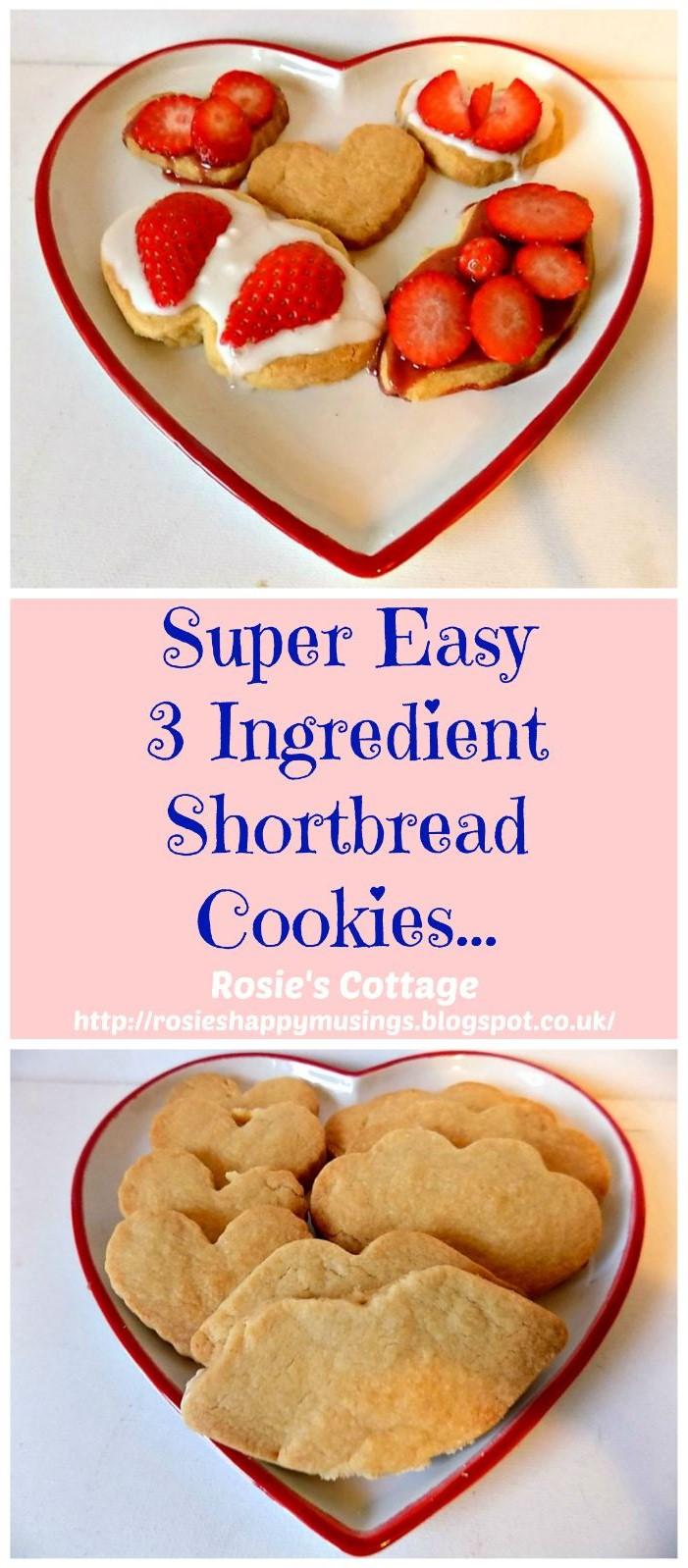 Rosie's Cottage: Super Easy, 3 Ingredient Valentine's Day ...
