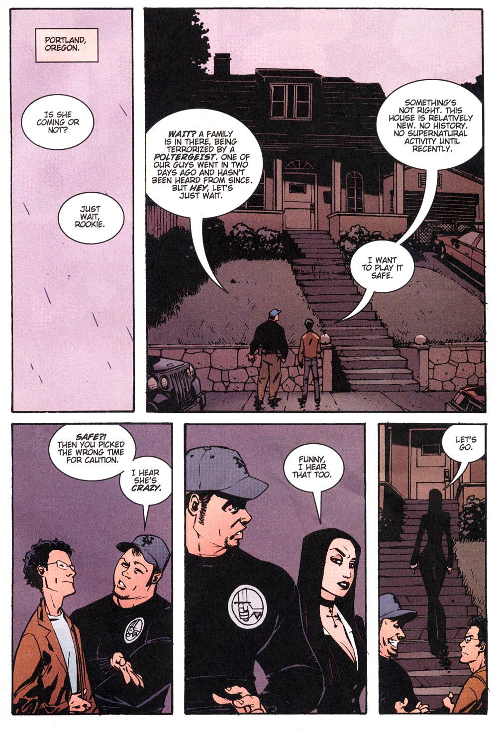 Read online Hellboy: Weird Tales comic -  Issue #4 - 5
