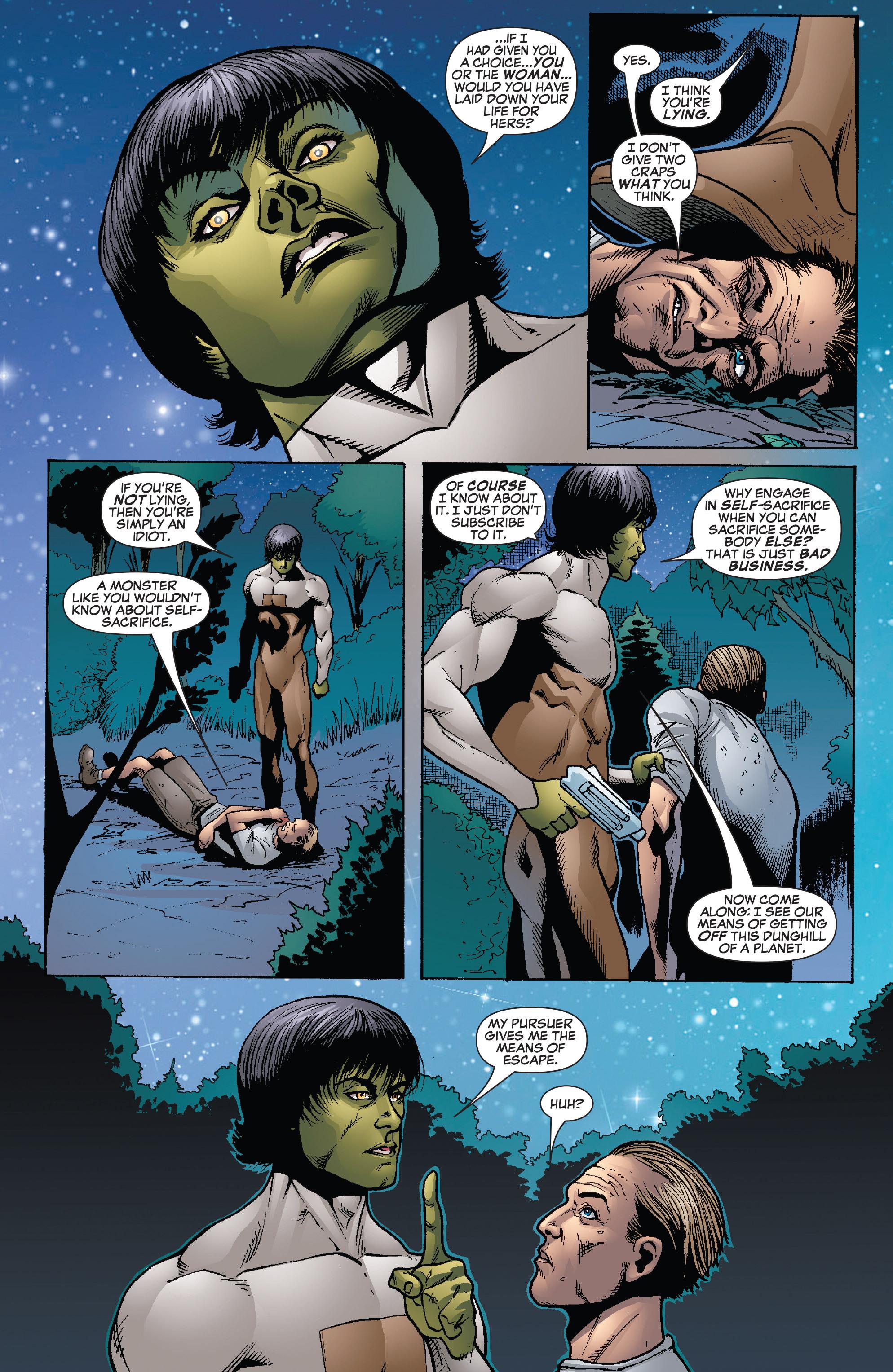 Read online She-Hulk (2005) comic -  Issue #26 - 9