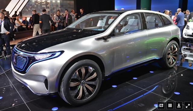 Konsep Mercedes Benz EQ A.Carscoops Mobil Listrik Murah