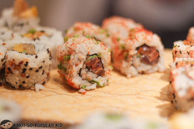 Sushi Rolls in Spectrum, Fairmont