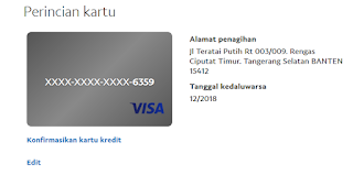 Paypal, VCC