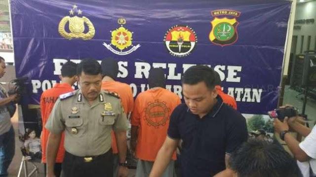 Ditangkap, Tetua Geng Motor Jagakarsa Komat-Kamit Baca Mantra