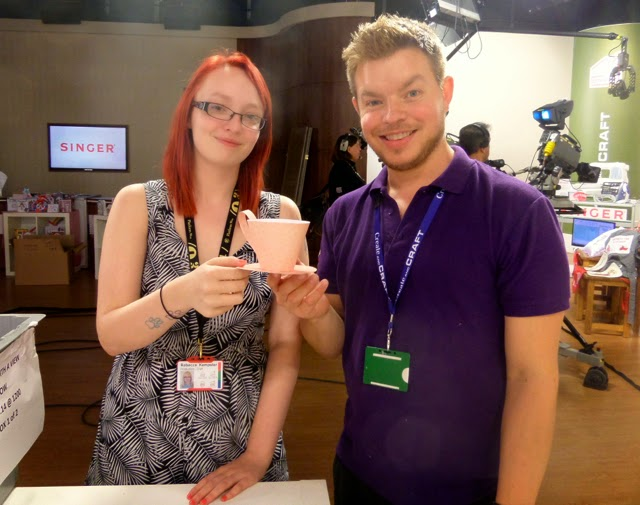 Ben & Rebecca at Create and Craft TV