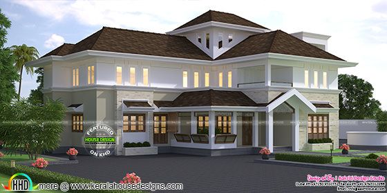 Grand modern house plan May 01, 2017