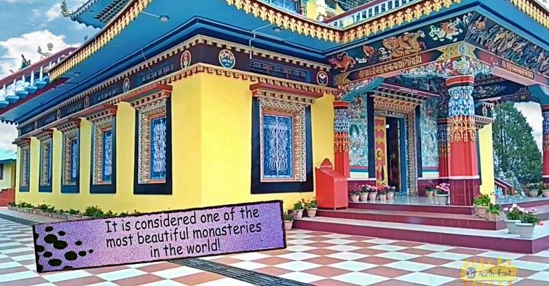 Sang-ngag Choekhor Dargyeling Monastery or Chillipam Gompa in Rupa, Arunachal Pradesh
