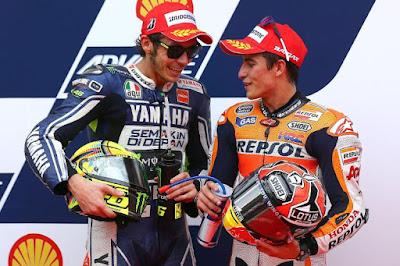 Marc Marquez Anggap Rossi Sebagai Saingan Terberat