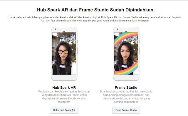 Membuat Bingkai di Facebook Menggunakan Hub Spark AR dan Frame Studio