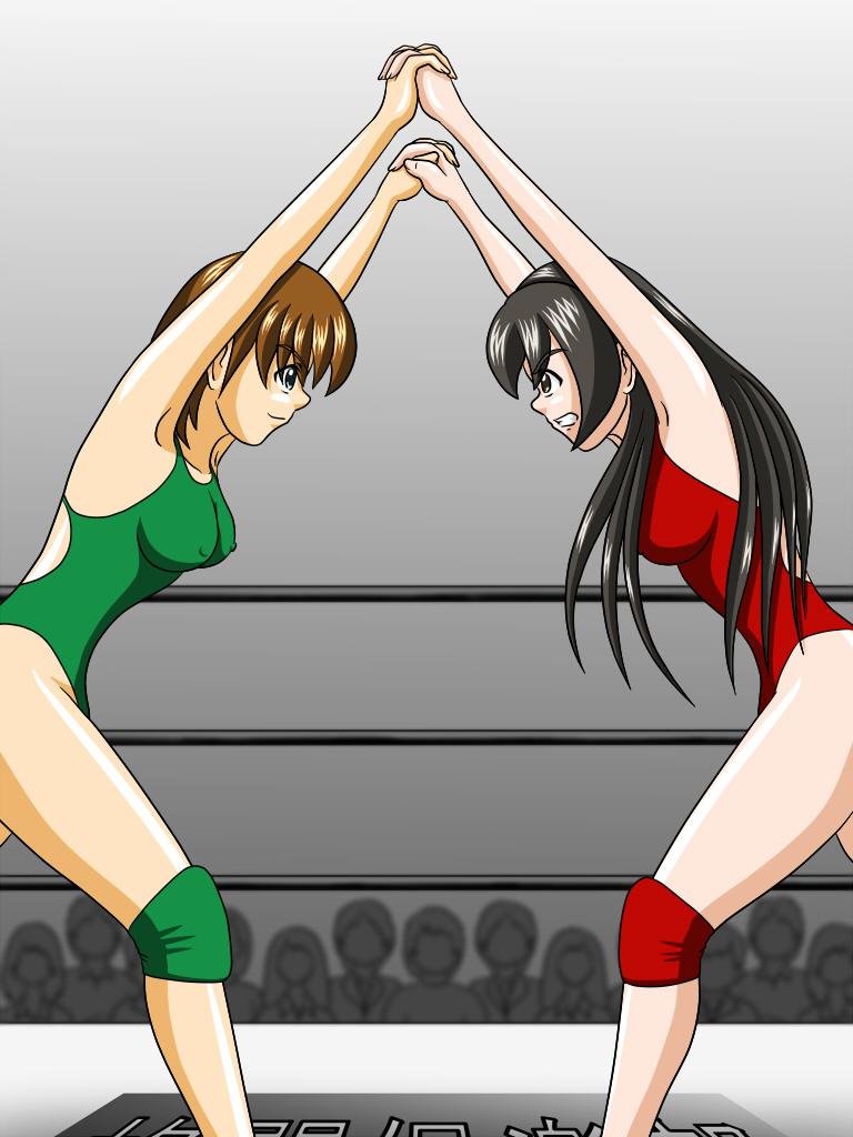 Картинки аниме борьба