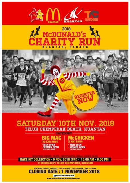 McDonald's Charity Run
