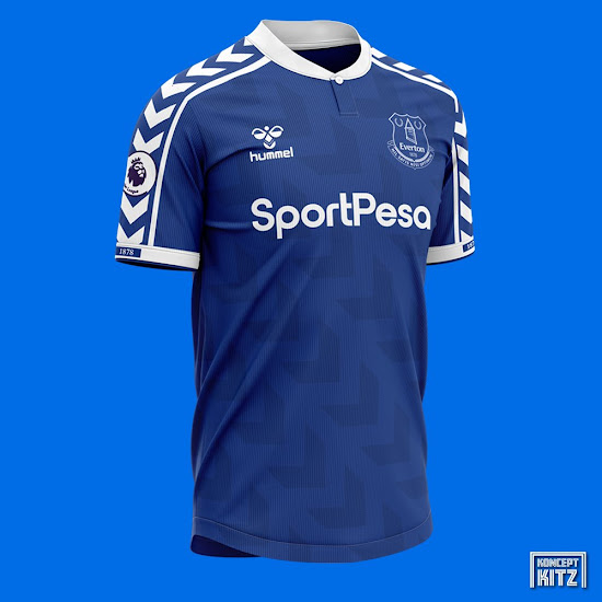 Classy Hummel Everton 20 21 Home Away 2 Alternative Kit Concepts Revealed Footy Headlines