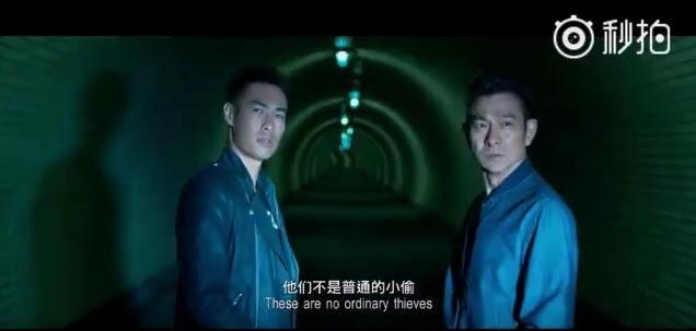 舒淇和馮德倫愛的結晶《俠盜聯盟》預告曝光 劉德華、尚雷諾跨國追逐