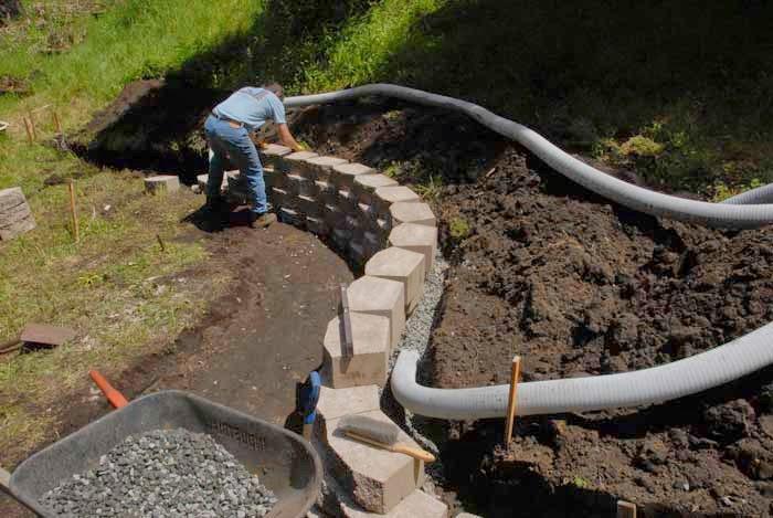 Custom Stoneworks Amp Design Inc Drainage Issues In Yard